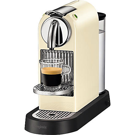 NESPRESSO Magimix Nespresso Citiz coffee machine cream (Cream