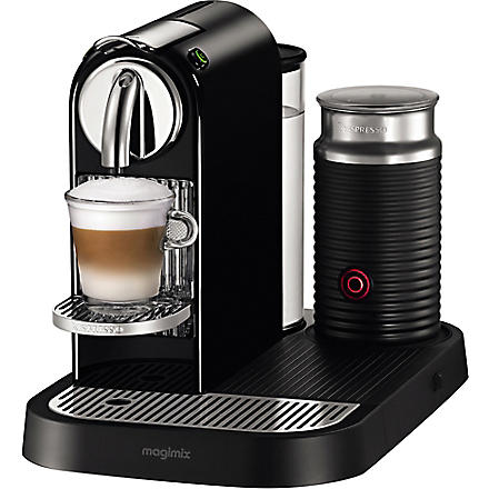 NESPRESSO Magimix Nespresso Citiz coffee and milk machine black (Black