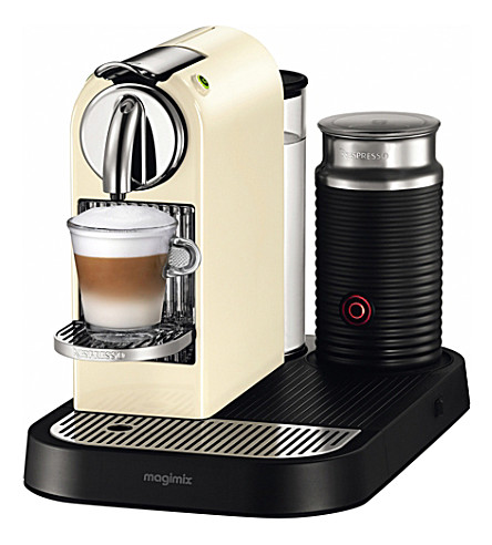 NESPRESSO Magimix nespresso citiz coffee & milk machine cream (Cream