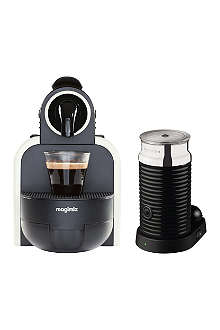 NESPRESSO Magimix Essenza espresso coffee machine with Aeroccino