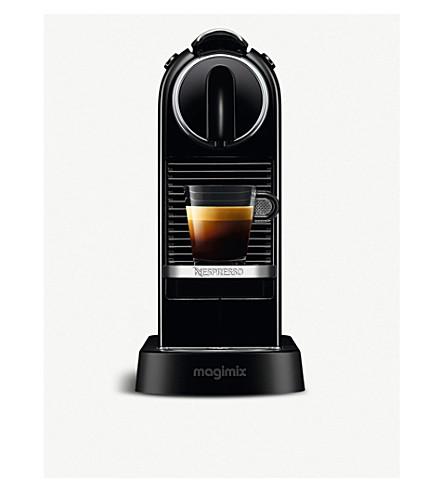 NESPRESSO Magimix Nespresso Citiz coffee machine (Black