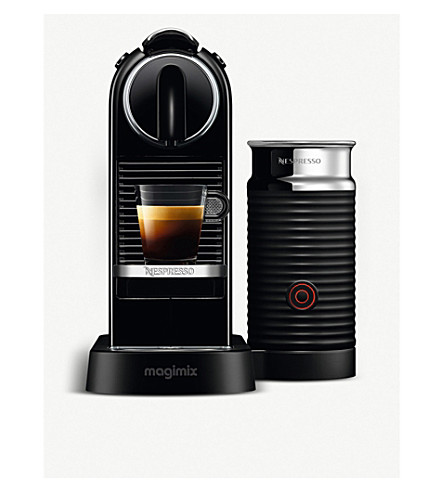 NESPRESSO Magimix Nespresso Citiz milk and coffee machine (Black