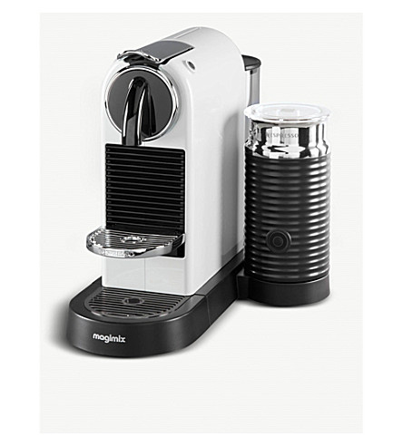 NESPRESSO Magimix Nespresso Citiz & Milk coffee machine white
