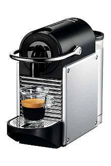NESPRESSO Magimix Nespresso Pixie coffee machine aluminium