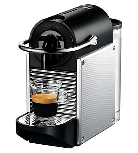 NESPRESSO Magimix Nespresso Pixie coffee machine aluminium (Aluminium