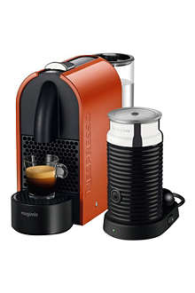 NESPRESSO U Magimix Nespresso coffee machine + Aeroccino3 milk frother