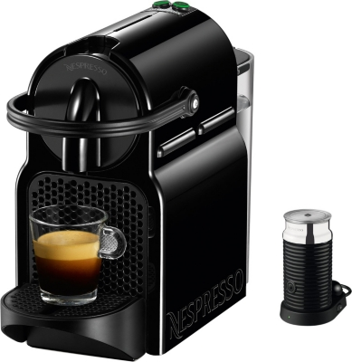 nespresso magimix inissia coffee machine with aeroccino. Black Bedroom Furniture Sets. Home Design Ideas