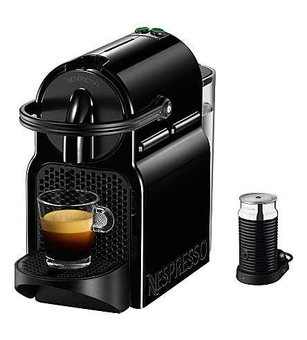 NESPRESSO Magimix Inissia coffee machine with Aeroccino