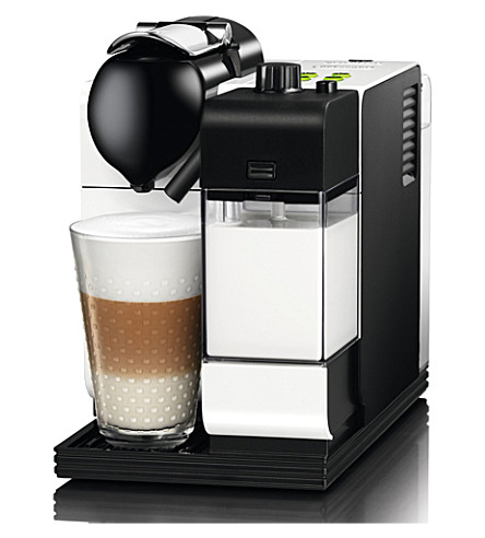 NESPRESSO Delonghi Nespresso Lattissima+ silky white