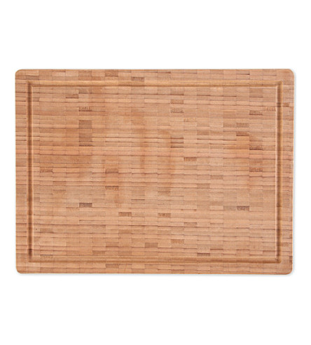 zwilling j a henckels bamboo large cutting board. Black Bedroom Furniture Sets. Home Design Ideas