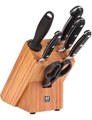 ZWILLING J.A HENCKELS Pro seven-piece knife block set