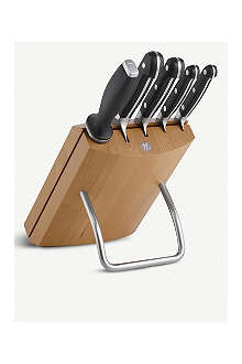 ZWILLING Pro six-piece knife block set