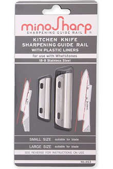 GLOBAL MinoSharp guide rails for Whetstone knife sharpeners
