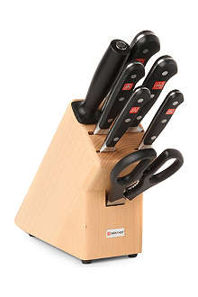 WUSTHOF Classic seven-piece knife block set