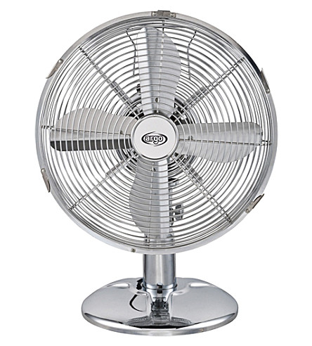 ARGO CLIMA Iridium desk fan stainless steel