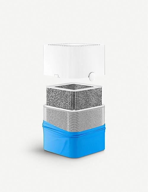 蓝色 AIR 蓝色纯色 211 粒子和碳空气筛选
