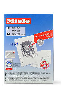 MIELE Pack of five FJM Hyclean dust bags