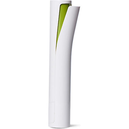 JOSEPH JOSEPH No-spill Mill™ electric salt and pepper mill (White/ green