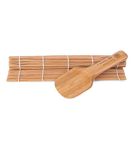 CHING Bamboo sushi rolling set