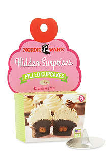 NORDICWARE Filled cupcake hidden surprises
