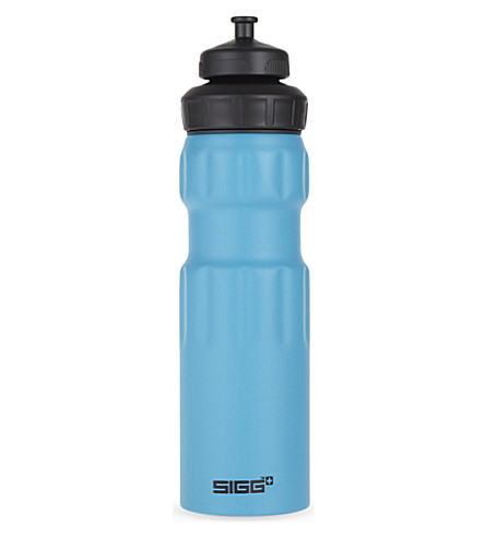 SIGG Wide Mouth sports bottle blue touch 0.75L