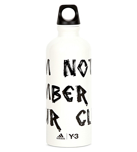 SELFRIDGES SIGG Y-3 aluminium water bottle