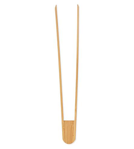 NICOLAS VAHE Bamboo food tongs 30cm