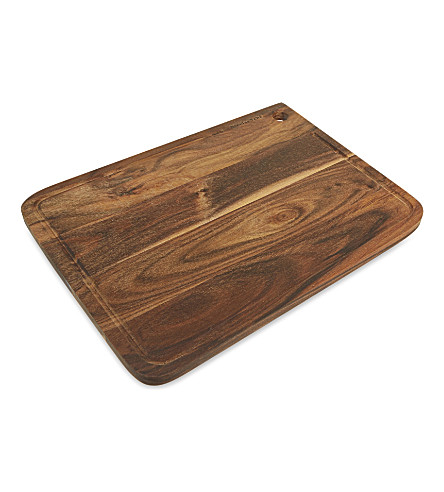 NICOLAS VAHE Large wooden cutting board 38cm