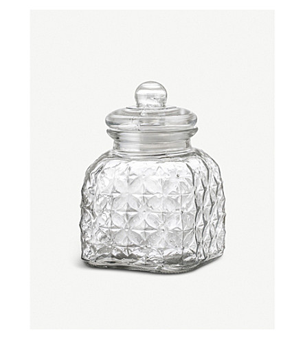 BLOOMINGVILLE Glass Jar small