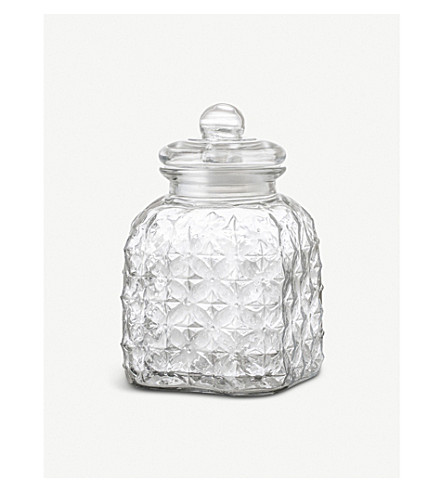 BLOOMINGVILLE Glass Jar medium