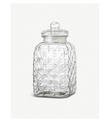 BLOOMINGVILLE Glass Jar large