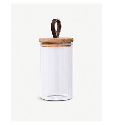 BLOOMINGVILLE Glass jar medium 21.5cm
