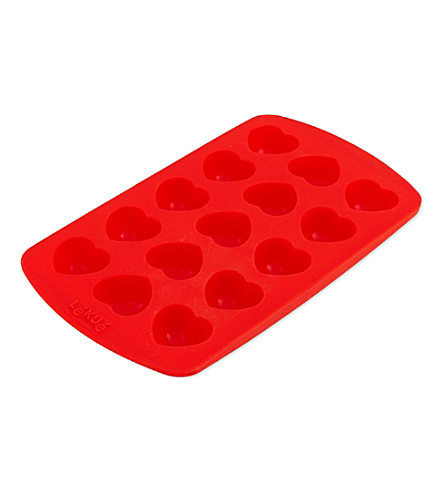 LEKUE Chocolate heart mould kit