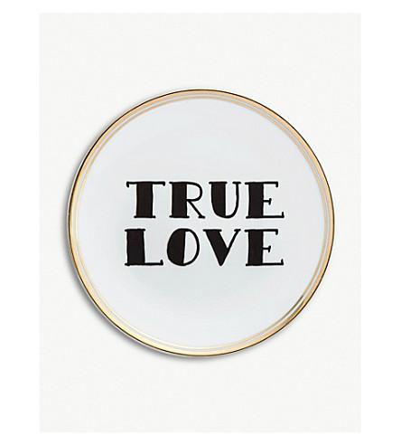 BITOSSI HOME True Love porcelain side plate 15cm