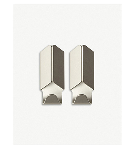 HAY Aluminium hooks set of two