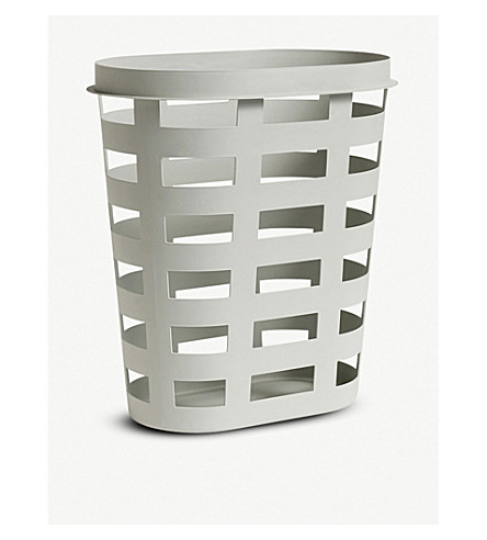 HAY Minimal plastic laundry basket (big)