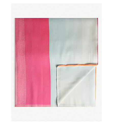 HAY Striped merino wool blanket 180cm x 140cm