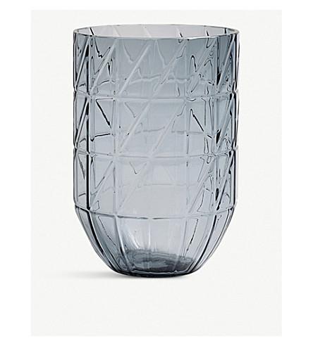 HAY Colour large glass vase 19cm