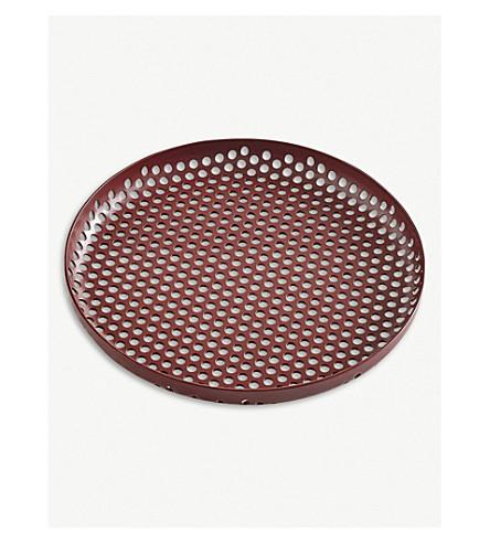 HAY Small perforated aluminium tray