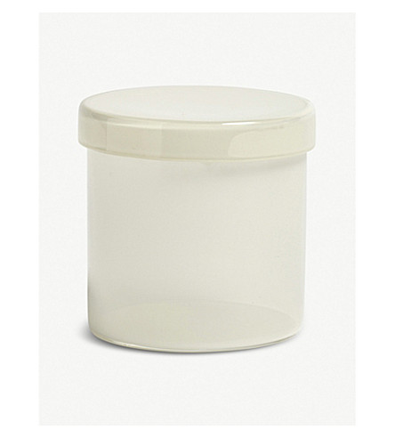 HAY Large lidded glass container