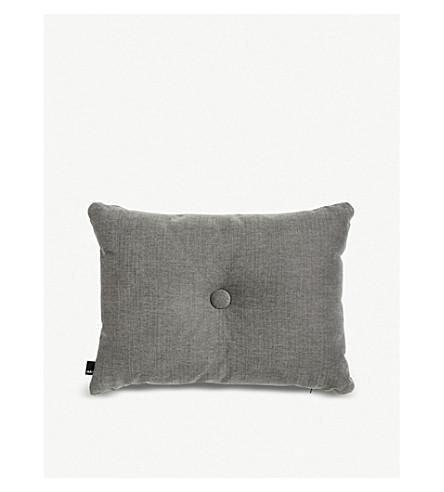 HAY Soft dot cotton-linen blend cushion 60x45cm