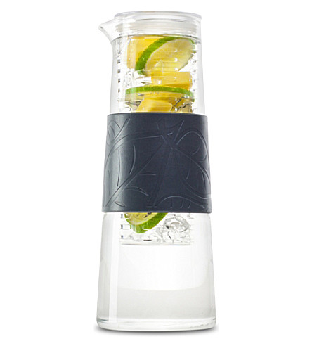 INFRUITION Infruition grey glass jug 1ltr