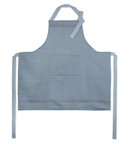 FALCON Linen-cotton blend apron