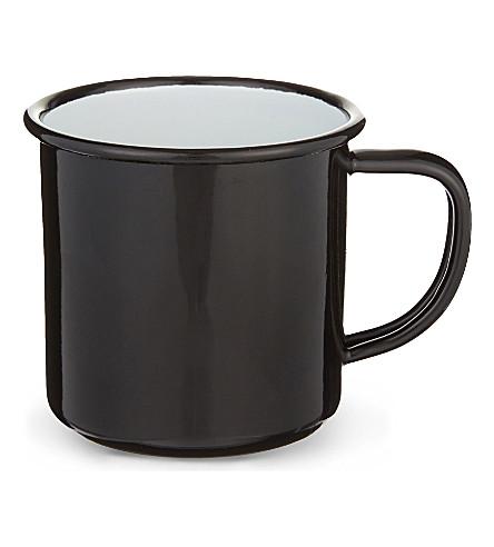 FALCON Enamel mug 8cm