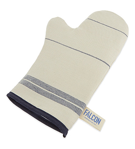 FALCON Linen-cotton oven gloves