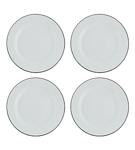 FALCON Enamel plate set x4