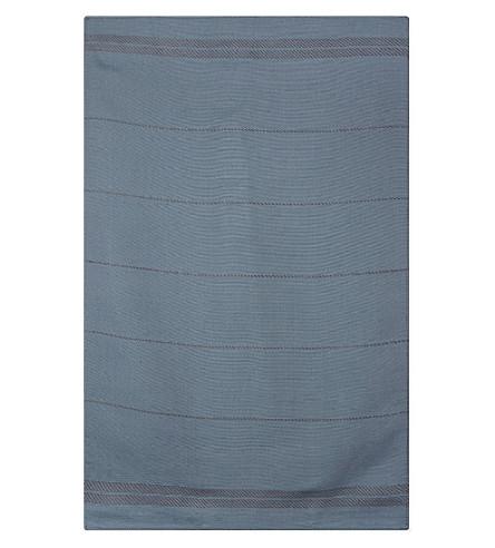 FALCON 亚麻棉混纺茶叶毛巾