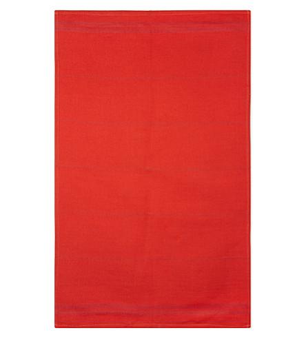 FALCON Linen-cotton blend tea towel