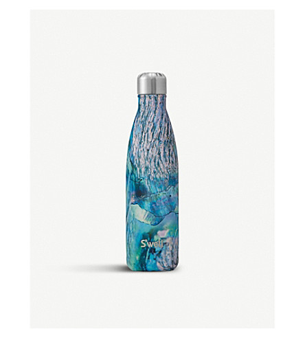 SWELL Paua shell water bottle 480ml