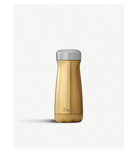 SWELL Yellow gold traveller bottle 450ml (Yellow+gold
